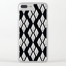 Black and white ,classic.2 Clear iPhone Case