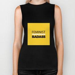 Feminist Badass Biker Tank