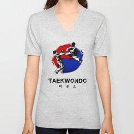 Taekwondo Unisex V-Neck