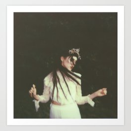 Casstronaut - Impossible Project Polaroid - 3 Art Print