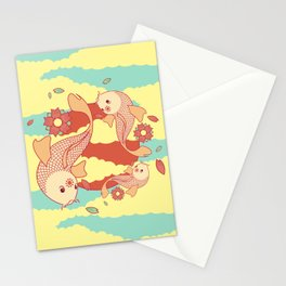 go with the flow Stationery Cards