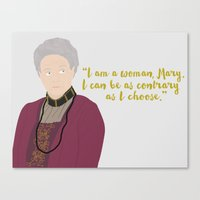 downton abbey Canvas Prints featuring Downton Abbey  by Shop Sarah Alyson