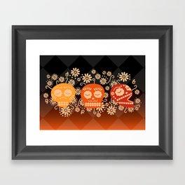 Day of the Dead ~ Dias de los Muertos Framed Art Print