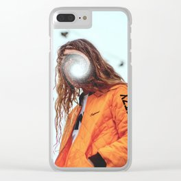 Yung Galaxy Clear iPhone Case