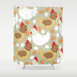 Hen House Shower Curtain