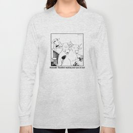 Claudine's Making Cow Eyes Long Sleeve T-shirt