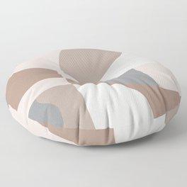Scandinavian muted pattern Floor Pillow