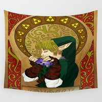 courage Wall Tapestries featuring COURAGE by BlackTaintedHeart