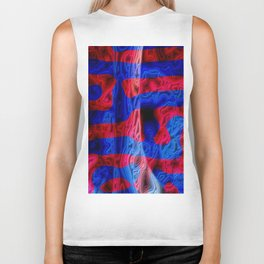 Red and Blue Biker Tank
