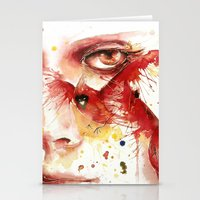 cardinal Stationery Cards featuring Cardinal  by Chelsea Brouillette