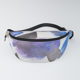 11  | 1903019 Watercolour Abstract Painting Fanny Pack