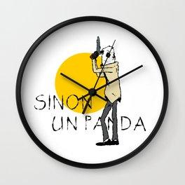 Sinon, un panda (4) Wall Clock