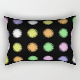 Rainbow Fuzz Rectangular Pillow