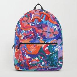 Flower Village Backpack