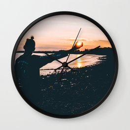 Sunsets Wall Clock