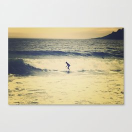 Surf  photography in Cannes French Riveria Canvas Print