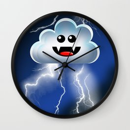 STORM CLOUD! Wall Clock