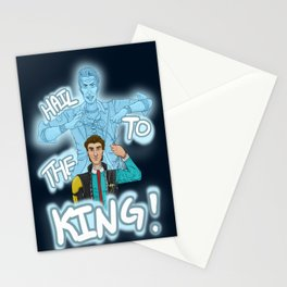 Hail To The King Stationery Cards