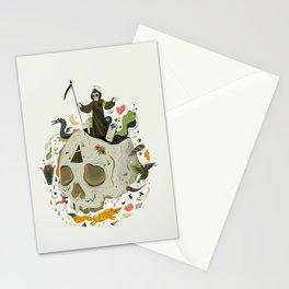 Thanatophobia Stationery Cards
