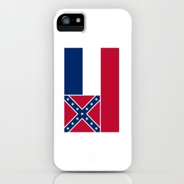 Flag of mississippi-flag of mississippi,south,Mississippian,usa, america,jackson,gulfport,Southaven iPhone Case