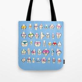 UNDERPANTS Blue Tote Bag