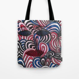 Brexit Waves Tote Bag