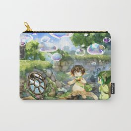 Bubble House Carry-All Pouch