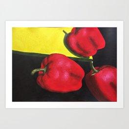 Pepprs Art Print