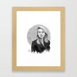 L Palmer Framed Art Print