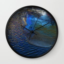 Afternoon reflection Wall Clock