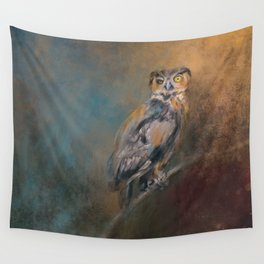 One Eye On You Wall Tapestry