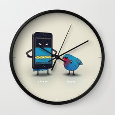 Appman & Tweetin' Wall Clock