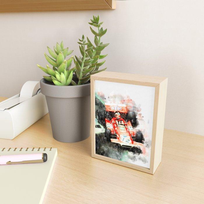 Jo Siffert Framed Mini Art Print