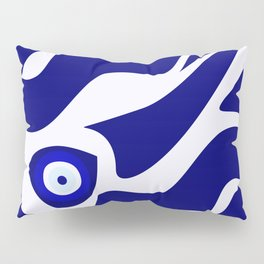 Evil Eye Lava Pattern Pillow Sham