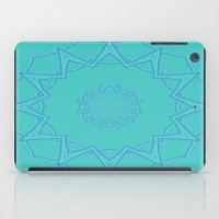 coasters iPad Cases featuring Teal Star  by Lena Photo Art