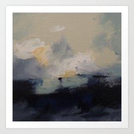 Storm over Georgian Bay Art Print