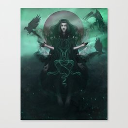 A Gifted Girl Canvas Print