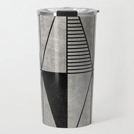 Concrete Triangles Travel Mug