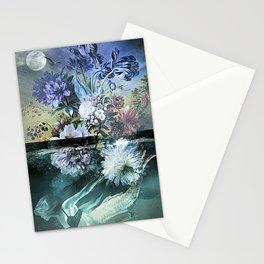 Mermaid Magic Moon Stationery Cards