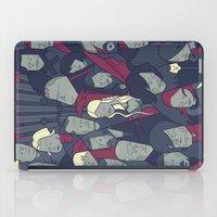 ale giorgini iPad Cases featuring Ice and Fire by Ale Giorgini