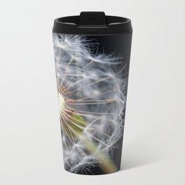 Dandelion Seeds Metal Travel Mug