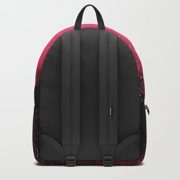 Desert Night Sky Magenta Pink Backpack