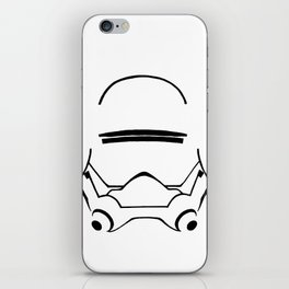 FLAMETROOPER HELMET iPhone Skin