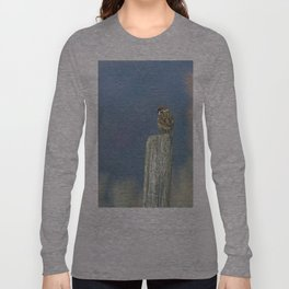 Passerotto-young sparrow Long Sleeve T-shirt