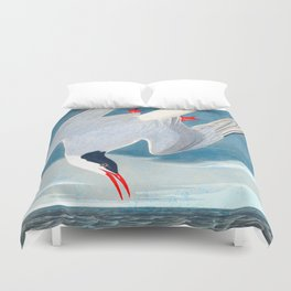 Arctic Tern Bird Duvet Cover