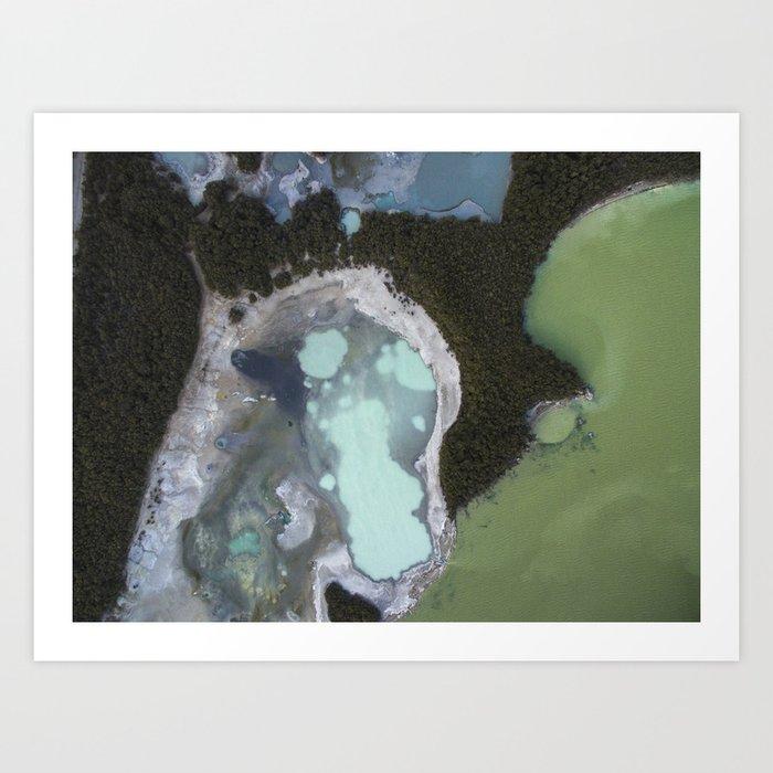 Sulphur Lake Art Print