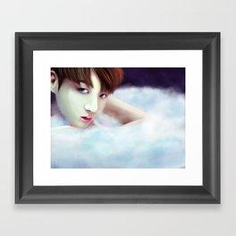 BTS - Jungkook - Angel Framed Art Print