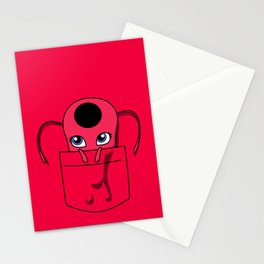 Tikki Pocket Tee Stationery Cards