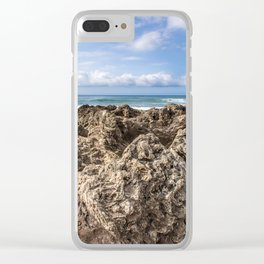 Ocean Flow Clear iPhone Case