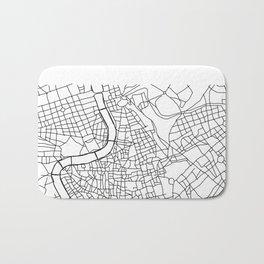 Roma - City Map - Daniele Drigo Bath Mat